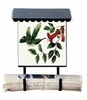 Bacova Gardens 10301 New Hummingbird Vertical Wall Mounted Mailbox