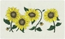 Bacova Gardens 10303 Sunflowers Residential Post Mount Strong Box Mailbox
