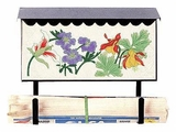 Bluegrass Woods Garden Wall Mount Mailboxes