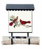 Bacova Gardens 10326 Cardinals Vertical Wall Mounted Mailbox