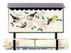 Bacova Gardens 10329 Songbirds Horizontal Wall Mounted Mailbox