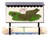 Bacova Gardens 10332 Frogs Horizontal Wall Mounted Mailbox