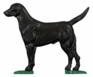 Whitehall Life-Like Multi-Color Black Lab Mailbox Ornament