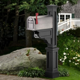 Black Dover Mailbox Package