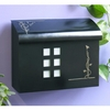 Black Pewter Wall Mount Mailbox