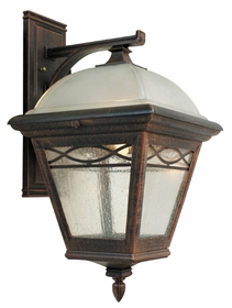 Brentwood Top Mount Closed Bottom Medium Lighting Fixture