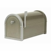 Bronze Bellevue Mailbox with Platinum Accents