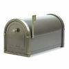 Bronze Coronado Mailbox with Antique Bronze Accents