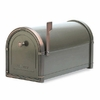 Bronze Coronado Mailbox with Antique Copper Accents