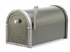 Bronze Coronado Mailbox with Antique Nickel Accents
