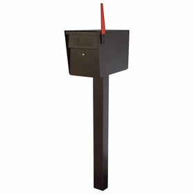 Bronze Ultimate High Security Locking Single Mailbox & Post Package