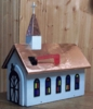 BUILDINGS - Copper Roof Church Mailbox