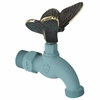 Whitehall Butterfly Faucet (Solid Brass) - Verdigris Finish