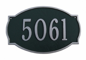 Standard Size Oval Plaques