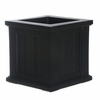Cape Cod 14 x 14 Patio Planter - Black