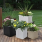 Cape Cod 20 x 20 Patio Planter - White