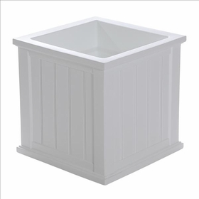Cape Cod 20 x 20 Patio Planter White