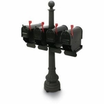 Carrington Standard Multiple Colonial Steel Mailboxes