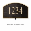 Salsbury 1320BGL Cast Aluminum Address Plaque