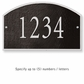 Salsbury 1320BSS Cast Aluminum Address Plaque