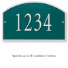 Salsbury 1320GSS Cast Aluminum Address Plaque