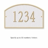 Salsbury 1320WGS Cast Aluminum Address Plaque
