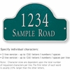 Salsbury 1342GSS Cast Aluminum Address Plaque