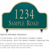 Salsbury 1341GGL Cast Aluminum Address Plaque