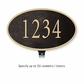 Salsbury 1330BGL Cast Aluminum Address Plaque