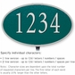 Salsbury 1331GSL Cast Aluminum Address Plaque