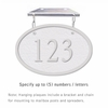 Salsbury 1335WSH Cast Aluminum Address Plaque