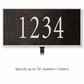 Salsbury 1310BSL Cast Aluminum Address Plaque