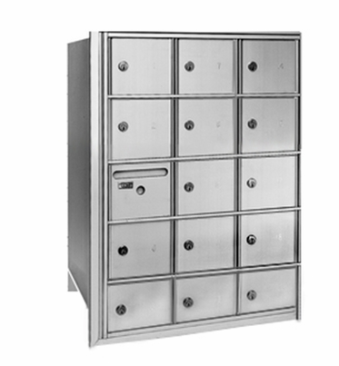 Centurian 2600 Series Horizontal Cluster Mailboxes - 14 Tenant Doors And 1 USPS Master Door
