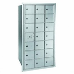 Centurian 2600 Series Horizontal Cluster Mailboxes - 20 Tenant Doors And 1 USPS Master Door