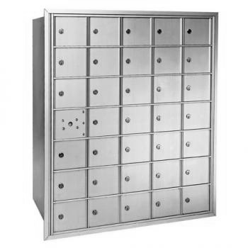 Centurian 2600 Series Horizontal Cluster Mailboxes - 34 Tenant Doors And 1 USPS Master Door