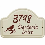 Ceramic Address Plaques