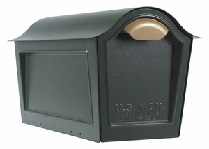 Whitehall Chalet Mailbox Only - Green
