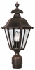 Chesapeake Medium Post Lantern Set Lighting Fixture