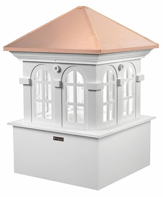 "Chesapeake Vinyl Cupola - 36"" Sq. X 51"" High"