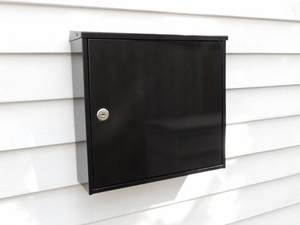 Chicago Black City Collection Modern Mailbox