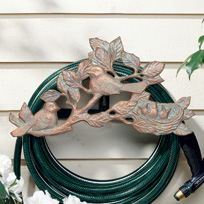 Whitehall Chickadee Hose Holder - Copper Verdi