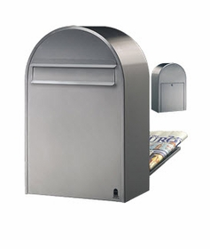 USPS Bobi Classic (B) Rear Access Stainless Mailbox