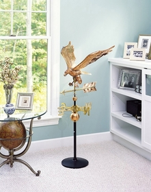 Whitehall Classic Directions Copper EAGLE Weathervane