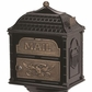 Classic Double Mount Pedestal Mailbox with Antique Bronze Accents (Choose mailbox Color)