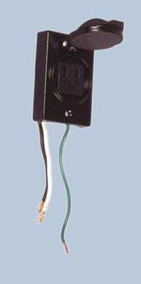 CO-268 - Post Electrical Outlet