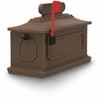 Coffee 1812 Architectural Series Plastic Mailbox