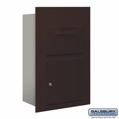 Salsbury 3600C5-ZFU Collection Unit For 5 Door High 4B+ Mailbox