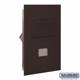 Salsbury 3600C5-ZRP Collection Unit-For 5 Door High 4B+ Mailbox