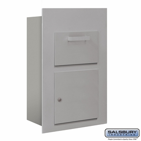 Salsbury 3600C5-AFU Collection Unit For 5 Door High 4B+ Mailbox
