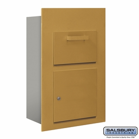 Salsbury 3600C5-GFP Collection Unit For 5 Door High 4B+ Mailbox